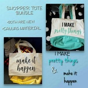 (2) New Crafter Totes